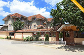 Вид с улицы - отель Вилла Жасмин в Береговом - Феодосия