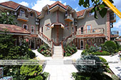 Вид двора - отель Вилла Жасмин в Береговом - Феодосия