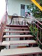 Лестница - Частный сектор на Курской 36 - Береговое Феодосия - Крым