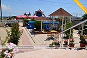 Вид со ступенек - вилла Астери в Береговом, Феодосия, Крым