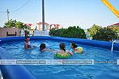 Бассейн - Вилла Астери в Береговом, Феодосия, Крым