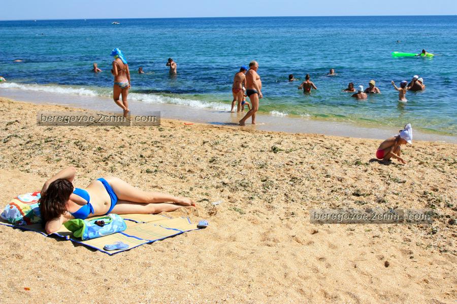 Частное с пляжей феодосия 12